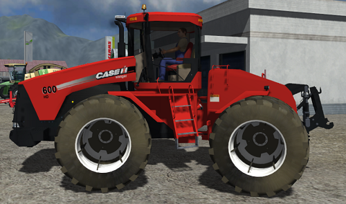 CASE IH steiger 600 HD