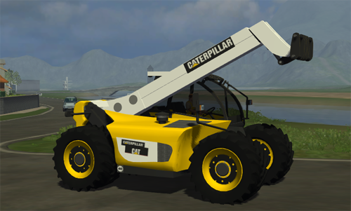2011 caterpillar truck. simulator 2011, CAT