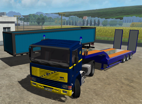 Volvo F12 Convoy Package