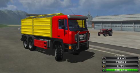 MAN F2000 6x6