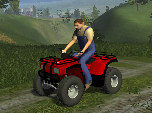 Farming Simulator 2013 Mods Four Wheeler