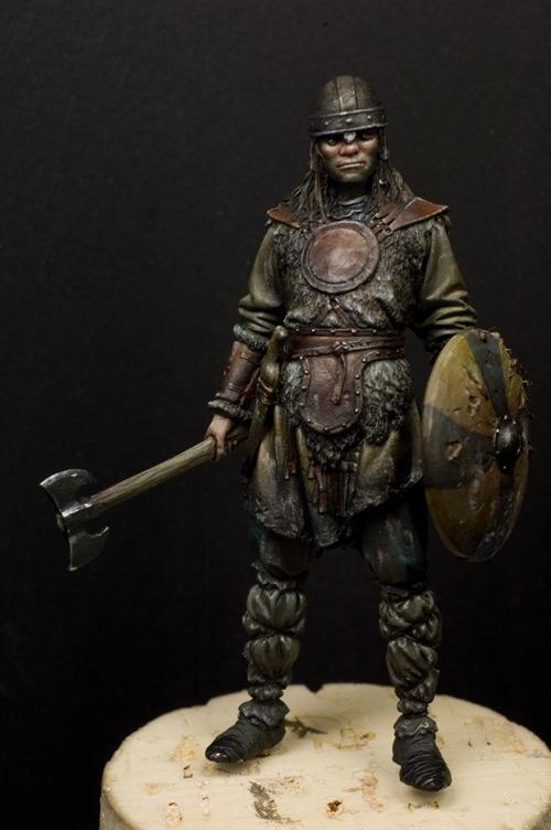 Saxon Warrior A wip of my saxon warrior:
