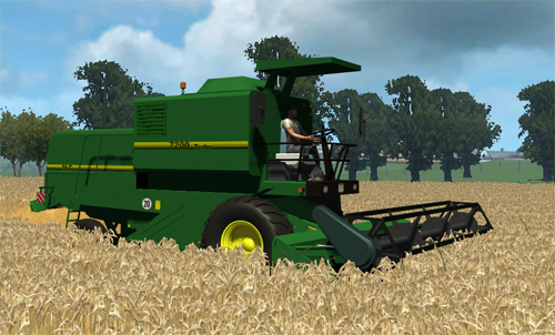 John Deere SLC 7200 Turbo