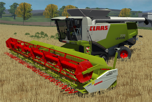 CLAAS Lexion 770TT + Headers (Multifruits)